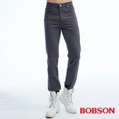 BOBSON 男款保暖高腰膠原蛋白直筒褲(1815-85)
