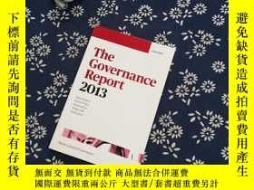 二手書博民逛書店The罕見Governance Report 2013Y267682 OXFORD OXFORD 出版201