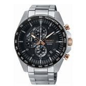 SEIKO CS急速時光三眼計時腕錶/8T67-00H0KS/SSB323P1