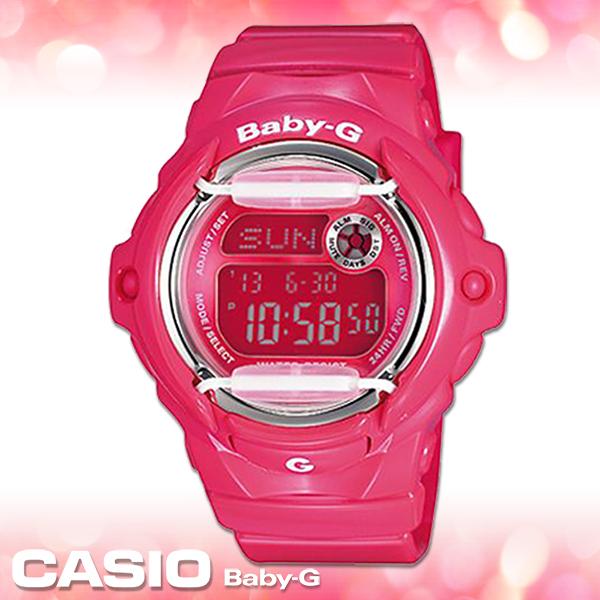 CASIO卡西歐 手錶專賣店  Baby-G BG-169R-4B 女錶 夏日風 活力休閒 防水200米 橡膠錶殼錶帶