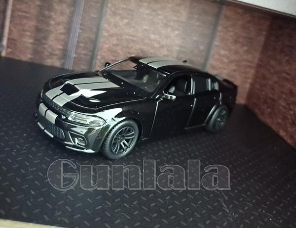 道奇戰馬 Dodge Charger SRT Hellcat 1:36模型車 1/36地獄貓 美式肌肉車 玩命關頭車款