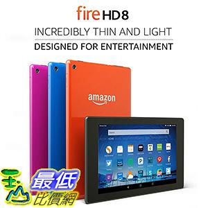 美國代購Amazon 整新品(非新品) Certified Refurbished Fire HD 8 Tablet,8 HD Display,Wi-Fi,8GB-Includes