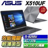 【ASUS華碩】【夜貓專案】Vivobook X510UF-0063B8250U 冰河灰  ◢ 15.6吋窄邊框輕薄筆電 ◣