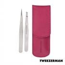 Tweezerman 專業鑷子雙用組-經典不銹鋼 Petite Tweeze Set - WBK SHOP