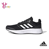 adidas跑步鞋 男鞋 GALAXY 5 透氣運動鞋 慢跑鞋 耐磨底 跑鞋 路跑 訓練鞋 S9389#黑白◆OSOME奧森鞋業