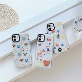 可愛小插畫 適用 iPhone12Pro 11 Max Mini Xr X Xs 7 8 plus 蘋果手機殼