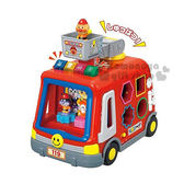 〔小禮堂嬰幼館〕麵包超人 顏色形狀認知消防車玩具《橘盒裝.多公仔.紅消防車》 4975201-18068