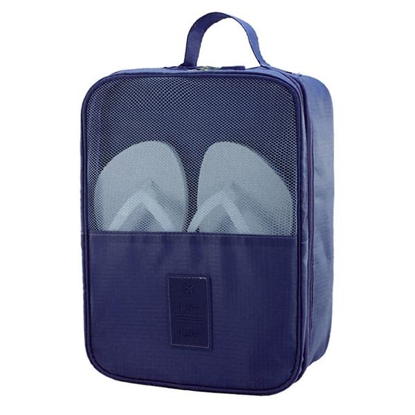 旅行三鞋位旅行鞋袋 防潑水 飛機鞋包 鞋子收納袋 旅行整理包 便攜鞋盒【YX021】《約翰家庭百貨