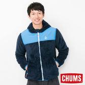 CHUMS 日本 男 Fleece Elmo 兜帽外套 深藍 CH041078N001