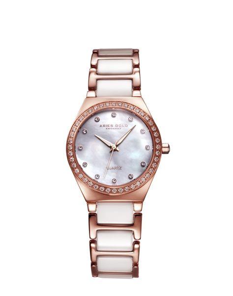★Aries Gold★-雅力士手錶-KENSINGTON-L 5014Z RG-MOP-錶現精品公司-原廠公司貨