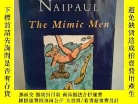二手書博民逛書店奈保爾罕見The Mimic Men by V. S. Naip