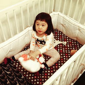 Lori's 優質長版超厚嬰兒床圍
