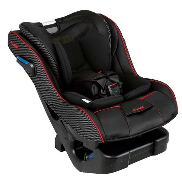 康貝Combi News Prim Long EG 汽車安全座椅/汽座-羅馬黑