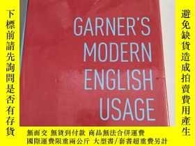 二手書博民逛書店Garner s罕見Modern English Usage【Garner的現代英語用法】精裝 原版 庫存Y6