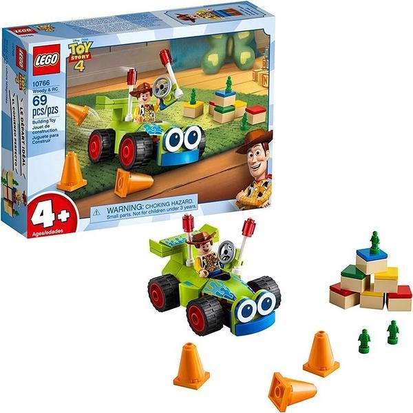 LEGO 樂高 Disney Pixars Toy Story 4 Woody & RC 10766 Building Kit (69 Pieces)