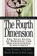 二手書《The Fourth Dimension: The Next Level of Personal and Organizational Achievement》 R2Y ISBN:0471132802