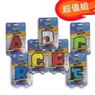 超值組【 積樂 Jile 積木】字母變形工程隊A-G (一組7款) G2039