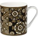 英國製造精瓷340ml馬克杯-Noir純黑系列-Casa