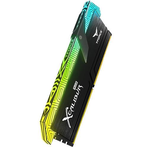 TEAM 十銓 XCALIBUR RGB 圖騰版 8GB*2 DDR4 3600 超頻記憶體