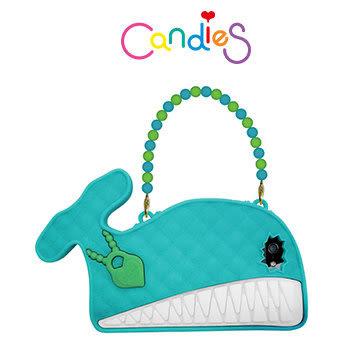 【Candies】大嘴鯨魚晚宴包(藍綠)-IPhone 5/5S/5C/SE