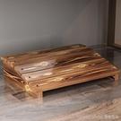 訂製實木放腳架擱腳架實木腳踏板墊腳凳踏腳辦公桌擱腳凳擱腳板腳墊 LannaS YTL