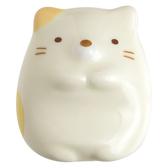 San X 角落生物 陶瓷筷架紙鎮角落小夥伴貓咪米黃_XS74108