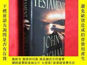 二手書博民逛書店The罕見Testament (小16開,硬精裝) 【詳見圖】Y