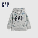 Gap男幼童 Logo童趣恐龍印花連帽外套 619743-恐龍印花