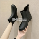 雨鞋 雨鞋女時尚款外穿四季工作鞋韓版短筒防水防滑耐磨雨靴保暖水鞋女 陽光好物