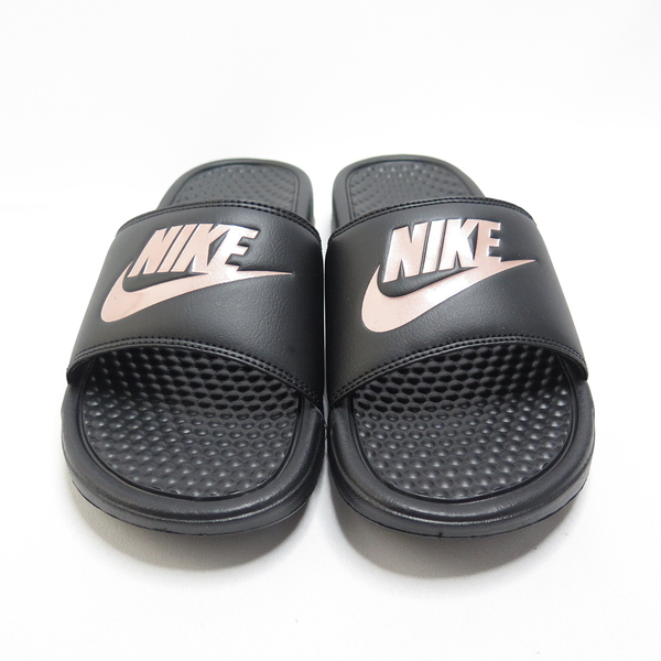 Nike WMNS BENASSI JDI 拖鞋 343881007 男女款 黑粉【iSport愛運動】
