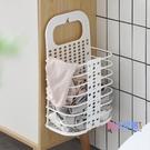 髒衣籃 可折疊臟衣籃塑料掛墻收納筐浴室洗衣籃臟衣服收納籃臟衣簍JY【快速出貨】