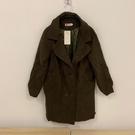 韓版百搭基本款修身長版大衣風衣(M號/121-5080)