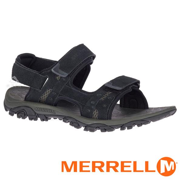 【MERRELL 美國】MOAB DRIFT 2 男 織帶涼鞋『黑色』033121 功能鞋.多功能鞋.休閒鞋.健行鞋.涼鞋