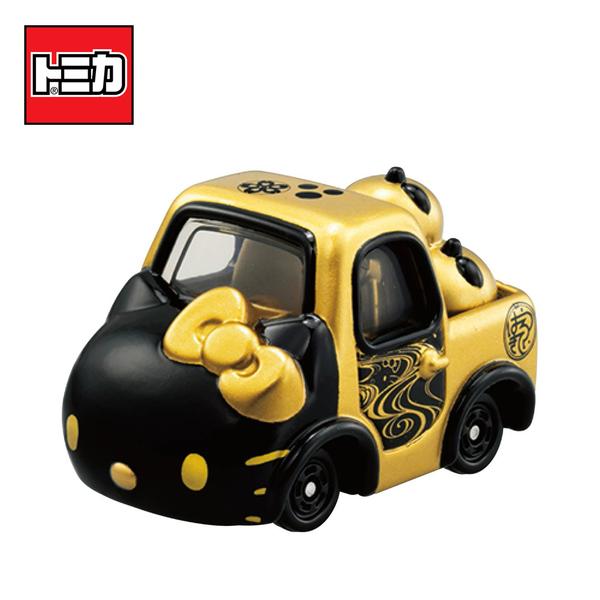 【日本正版】Dream TOMICA SP 凱蒂貓 和服系列 黑色款 和(渦) Hello Kitty 多美小汽車 - 166832