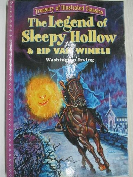 【書寶二手書T1/少年童書_DRT】The Legend of Sleepy Hollow & RIP Van Winkle