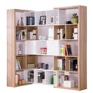 【采桔家居】艾迪斯 時尚8.7尺可伸縮書櫃/收納櫃(三色可選)