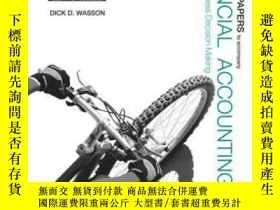 二手書博民逛書店Working罕見Papers To Accompany Financial Accounting: Tools