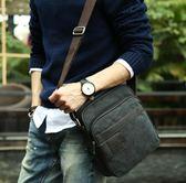 平板iPad潮流男士帆布小包戶外休閒單肩包運動出行斜挎包ipad男包包