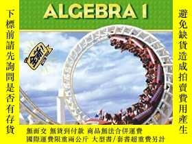二手書博民逛書店PRENTICE罕見HALL MATH ALGEBRA 1 ST