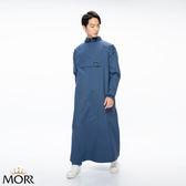 【MORR】PostPosi反穿雨衣第二代【午夜藍】快速穿脫/機車雨衣/連身雨衣/通勤/機車