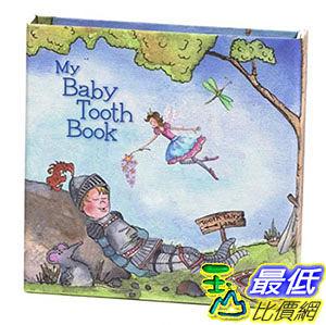 [美國直購] 進口 Baby Tooth Album Keepsake Flapbook 乳牙保存盒/乳齒盒 圖書款 男孩藍色 女孩粉色