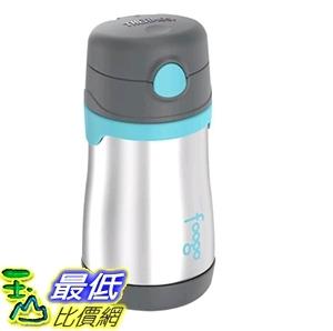 [7美國直購] thermos Foogo Vacuum Insulated Stainless Steel Straw Bottle 10 oz