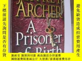 二手書博民逛書店A罕見Prisoner Of Birth 原版Y146810 J