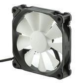 Phanteks 追風者 PH-F120XP_BK大風量版黑白12公分機箱散熱風扇PWM(液壓軸/聚風流葉片/避震墊/靜音溫控)