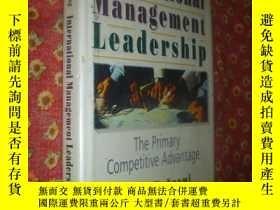 二手書博民逛書店International罕見Management Leader