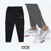 Nike 長褲 Dri-FIT Challenger Running Pants 黑 銀 男款 運動休閒 【ACS】 DD5004-010