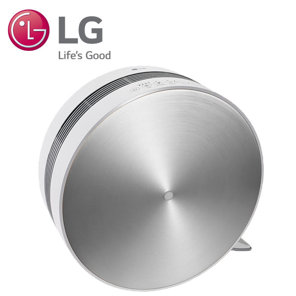 LG樂金 空氣清淨機 圓鼓型 高貴銀 PS-V329CS 韓國原裝進口