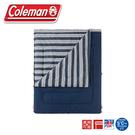 【Coleman 美國 冒險者紓壓睡袋《藍/C5》】CM-38136/露營用品/舒適睡墊/保暖睡袋/戶外登山