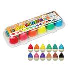 里和家居 韓國Eggyon無毒蠟筆12色 畫畫 美勞用品 繪圖用品