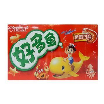 好麗友好多魚餅乾(海苔口味)90g